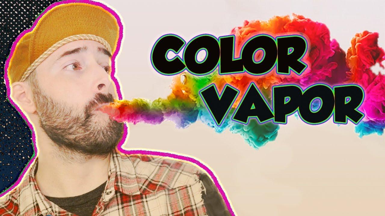 Colored Vapor?! A Vape Tricker's Dream! The Sense Arrow Kit! Vape Tricks!