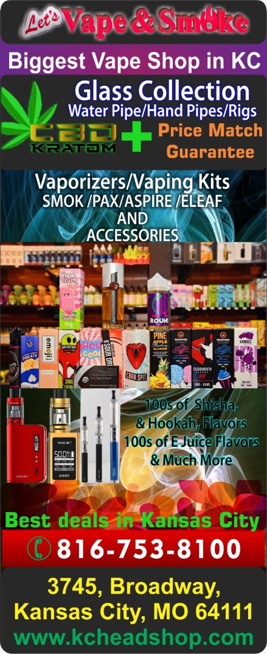 Hi  ! Are you looking for Best Head Shop in Kansas City's West port or around,…