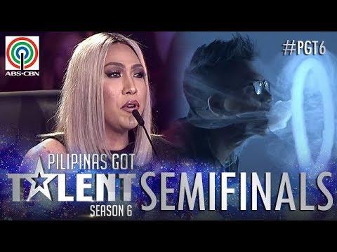 Pilipinas Got Talent 2018 Semifinals: JM Bayot – Vape Smoke Tricks