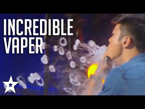 INCREDIBLE Vape Skills & Tricks Blow The Judges Away | Got Talent Global