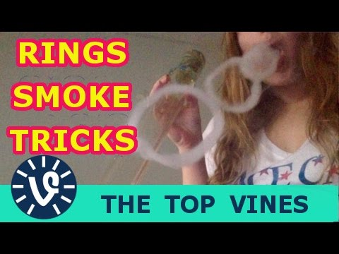 rings smoke vape tricks vine