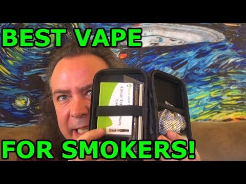 Best Vape for Smokers! | Mig 21 Cear Fusion Mini Vape Pen! | IndoorSmokers