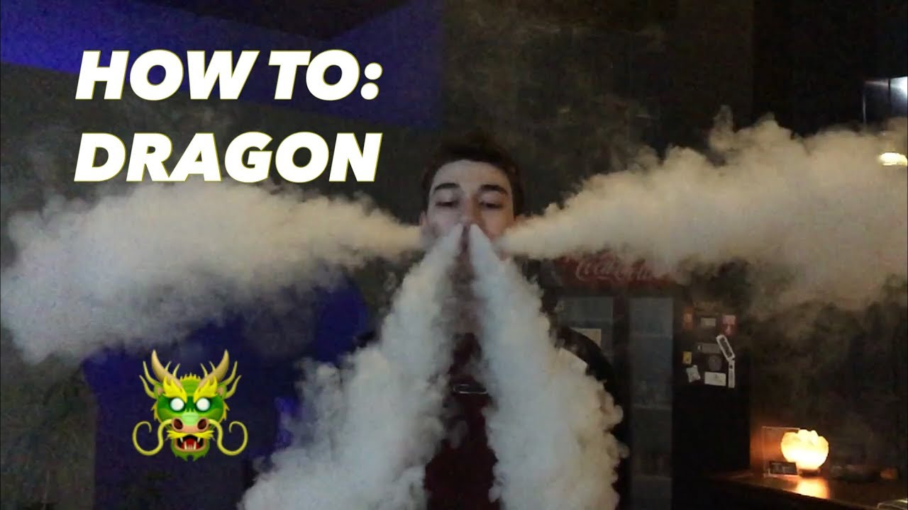 Vape Trick Tutorial – How to: Dragon Exhale