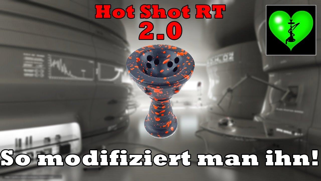 HOT SHOT RT MODIFIZIEREN + SMOKE TRICKS #ShishaTutorial