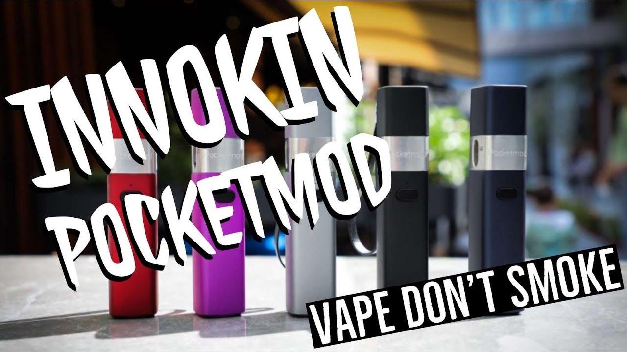 Pocketmod Starter Kit from Innokin – Vape Don't Smoke Reviews