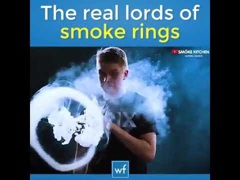 Real king of smoke ring..