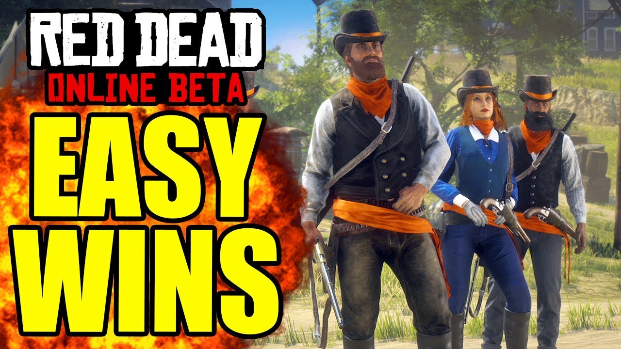 HOW TO WIN UP IN SMOKE RED DEAD ONLINE TIPS AND TRICKS! HOW TO BE GOOD AT RED DEAD ONLINE PVP TIPS!