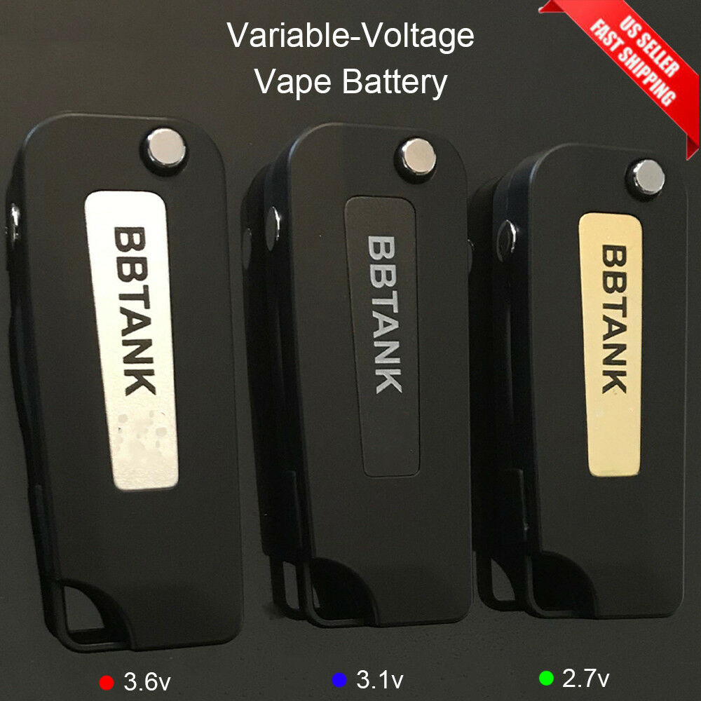 BB Tank 2.0 Variable Voltage Flip Key Fob Battery USB Charger BBTank ccell