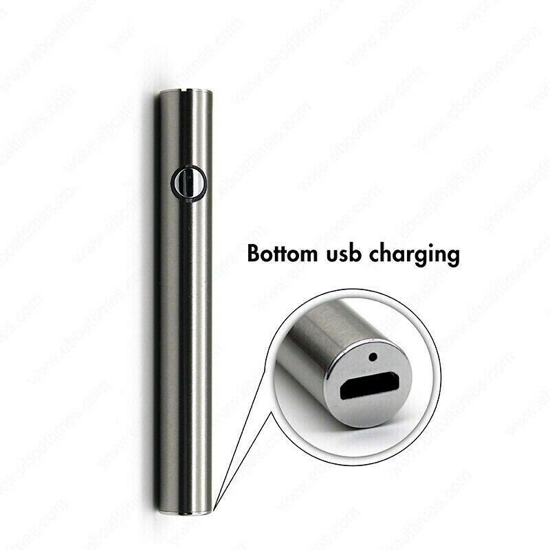 Slim-Pen Vape-Battery Preheat Variable Voltage w/USB Charger for THICK OIL