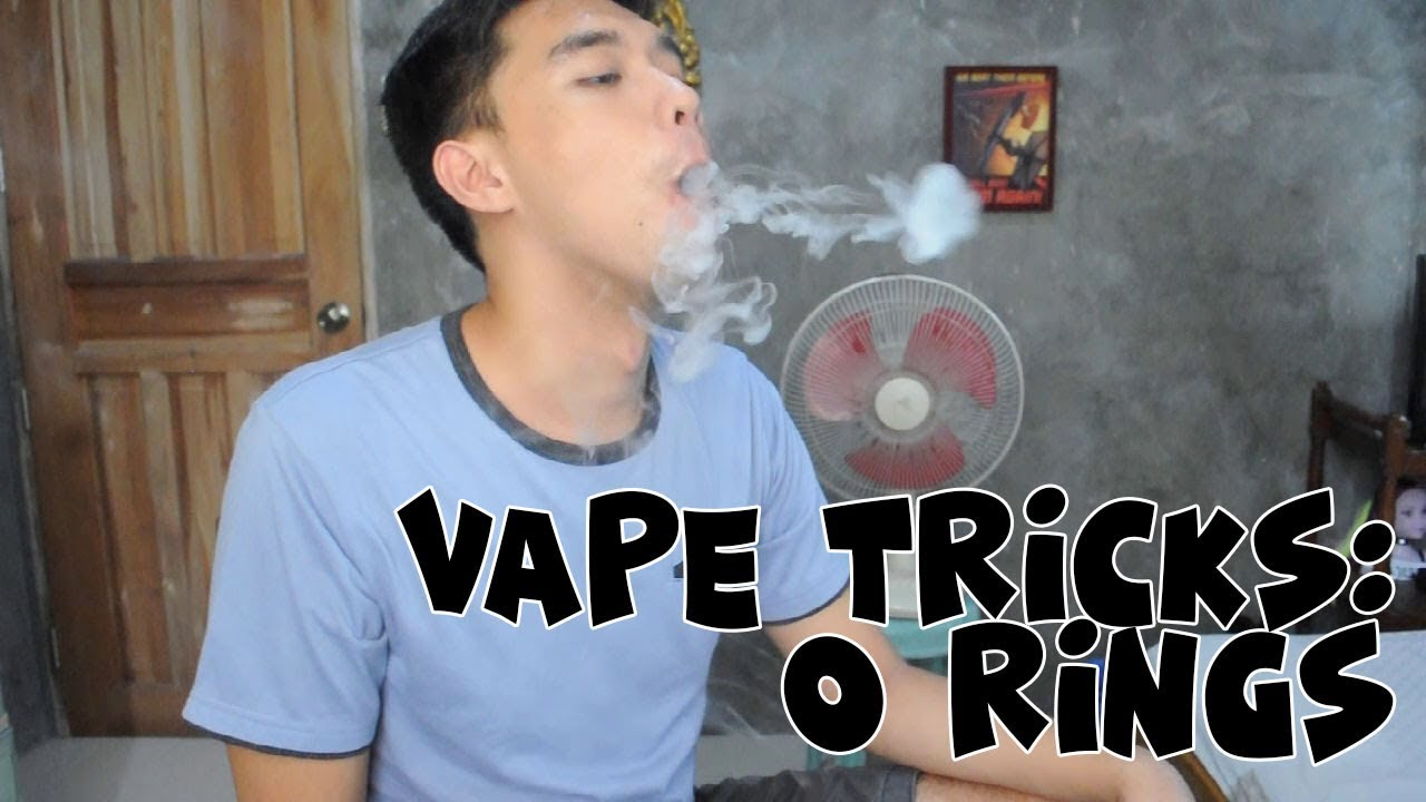 Vape Tricks + Vlog: How To Blow O Rings