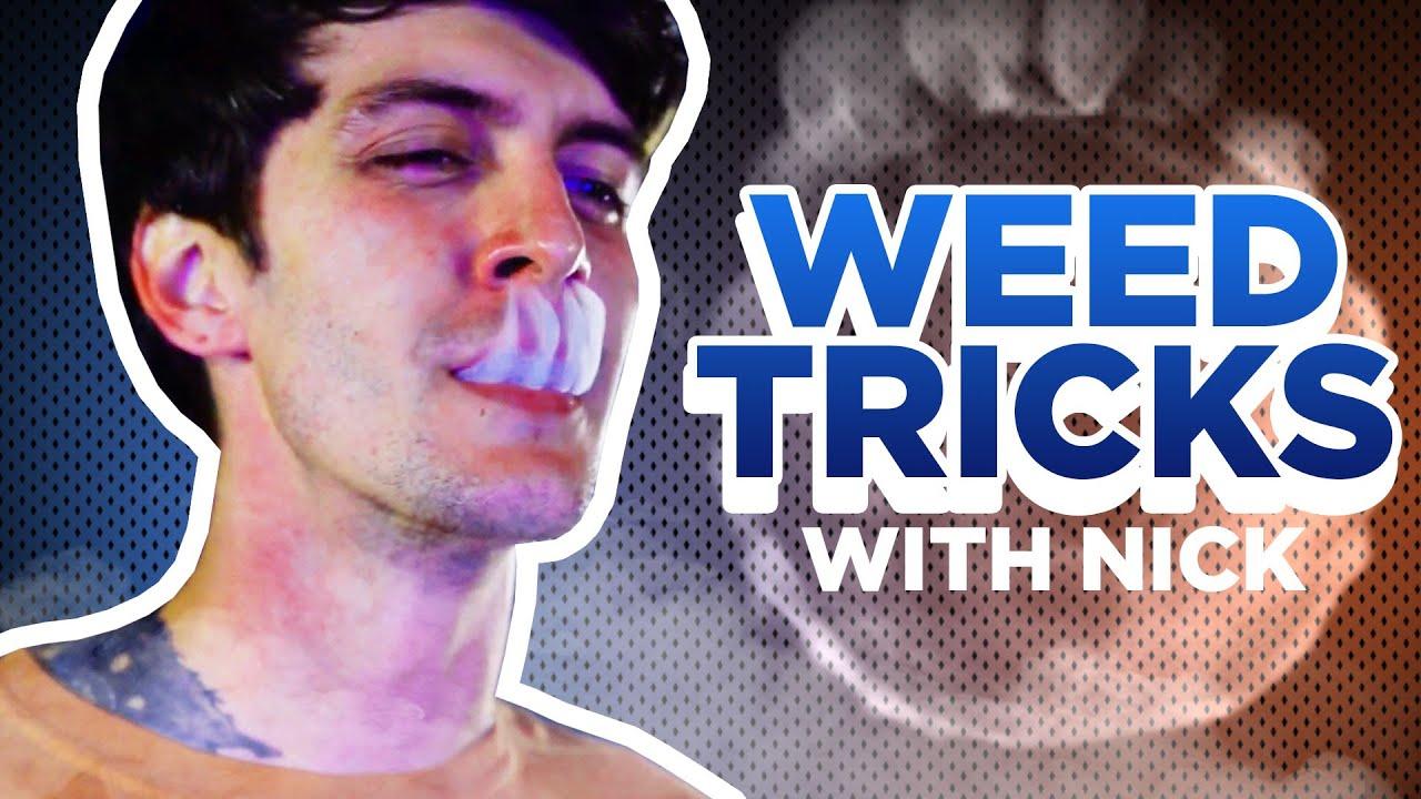 Smoke Tricks With Weed