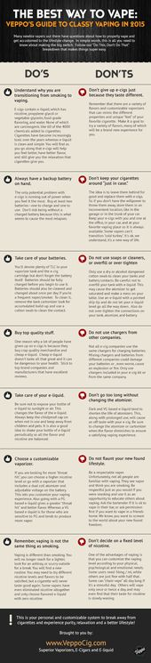 Make the switch from #cigarettes to #ecigs seamless with these nifty tips. #info…