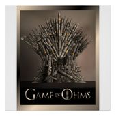 Game of Ohms Poster | Zazzle.com