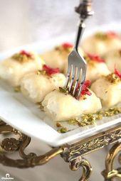 Halawet El Jibn (Sweet Cheese Rolls)   Cleobuttera