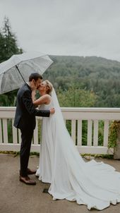 Rainy PNW Wedding Day Inspiration